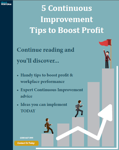 Ebook  5 Continuous Improvement Tips To Boost Profit