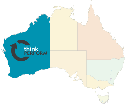 Map of Think Perform Perth WA Lean Manufacturing